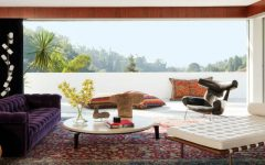 Adam Levine's Hollywood Hills Home with Mid-Century Floor Lamps 10