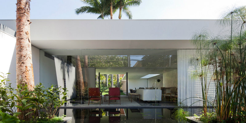 Plant-filled Greenery House in Brazil Shines with Modern Floor Lamps FEAT modern floor lamps Plant-filled Greenery House in Brazil Shines with Modern Floor Lamps Plant filled Greenery House in Brazil Shines with Modern Floor Lamps FEAT