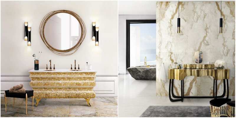 Fall in Love with These Lighting Designs for Your Luxury Bathroom (1) lighting design Fall in Love with These Lighting Designs for Your Luxury Bathroom collage 1