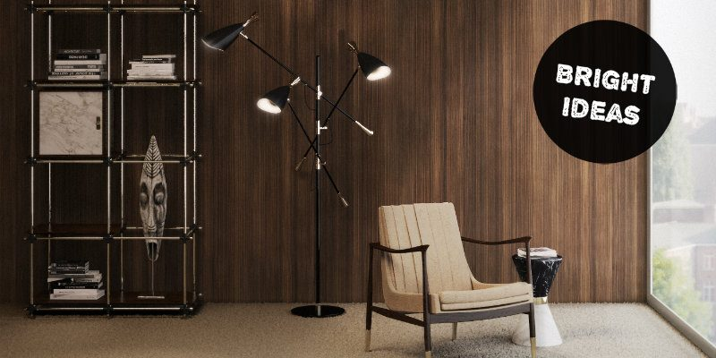 Bright Ideas The Perfect Modern Floor Lamp for Perusing Real Books FEAT