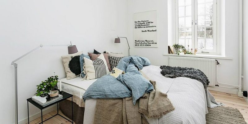 Dress Up Your Scandinavian Bedroom with These Modern Floor Lamps feat