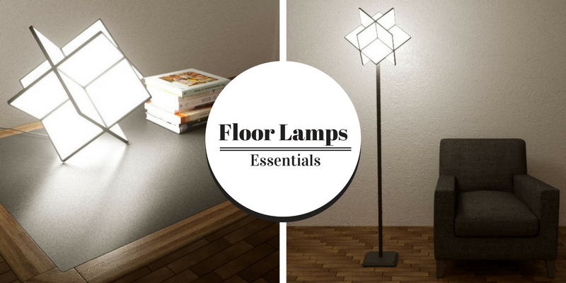 Floor Lamps Essentials A Square Lamp by Jerry Cao 1 square lamp Floor Lamps Essentials: A Square Lamp by Jerry Cao Floor Lamps