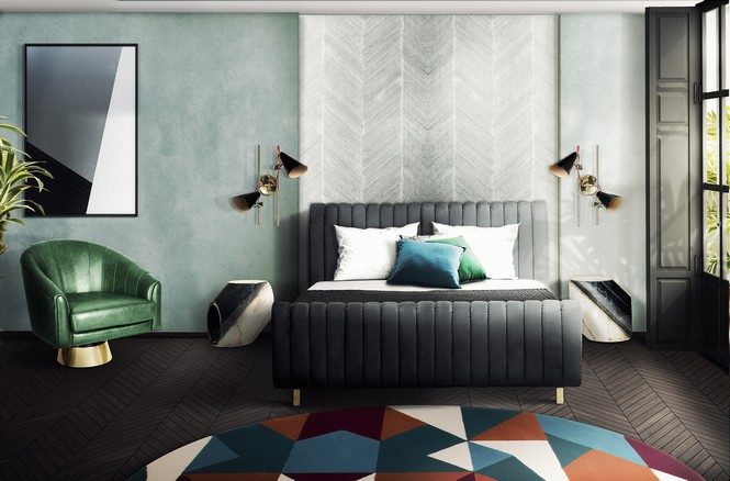 Mid Century Bedrooms Feel Inspired By These Lighting Decor