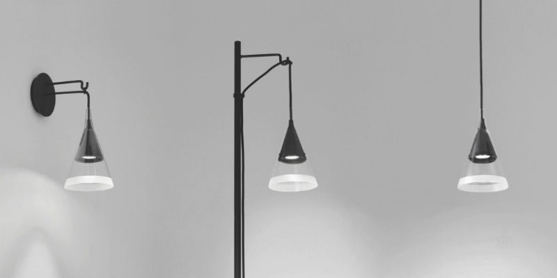 Floor Lamps Essentials David Chipperfield's Glass Lamps for Artemide FEAT