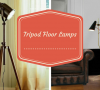 tripod floor lamps Add Allure To Your Living Room With These Tripod Floor Lamps Tripod Floor Lamps 100x90
