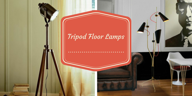 tripod floor lamps Add Allure To Your Living Room With These Tripod Floor Lamps Tripod Floor Lamps 800x400