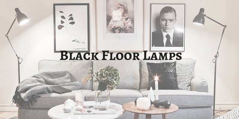 The Black Floor Lamps To Make A Living Room! (2)