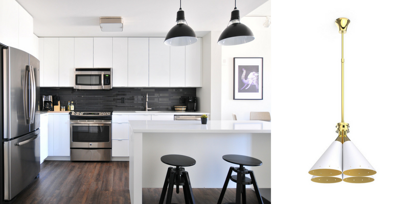 How to find the perfect lamp for your modern kitchen design