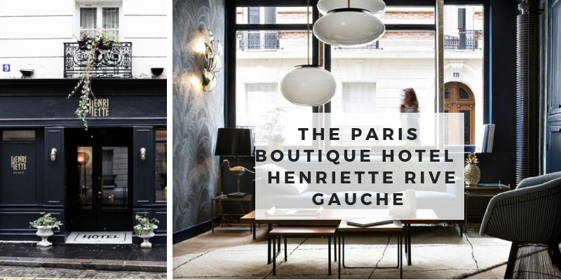 The Paris Boutique Hotel- Hotel Henriette Rive Gauche