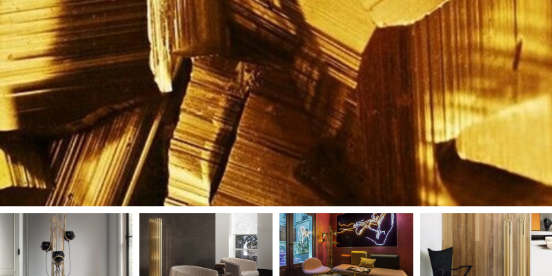 gold plated floor lamps All Gold Everything Gold Plated Floor Lamps For You Design sem nome