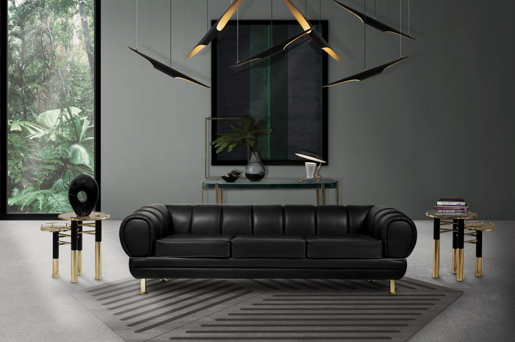 leather sofas Modern Floor Lamps That Go Along With Leather Sofas! Modern Floor Lamps That Go Along With Leather Sofas 1