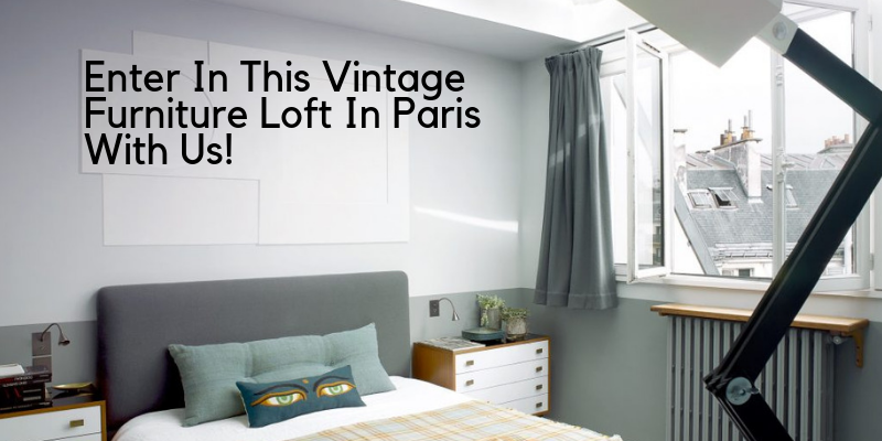 vintage furniture Enter In This Vintage Furniture Loft In Paris With Us! brunch 2