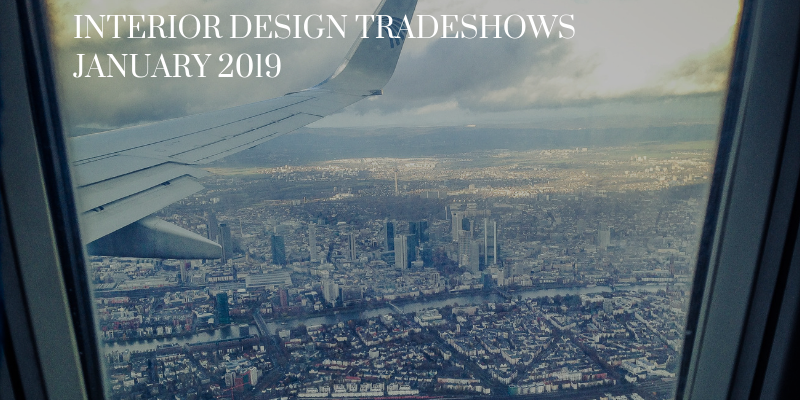 interior design tradeshows Interior Design Tradeshows To Kickoff Your 2019 With A Smile! Premium Quality Goods 1