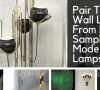 floor samples Pair These Wall Lamps From Floor Samples With Modern Floor Lamps! brunch 5 100x90