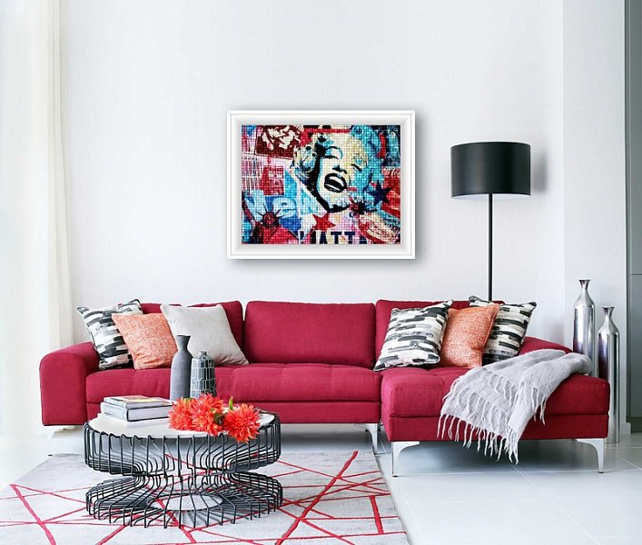 modern floor lamps Modern Floor Lamps In An All Red Everything Decor! Modern Floor Lamps In An All Red Everything Decor 1