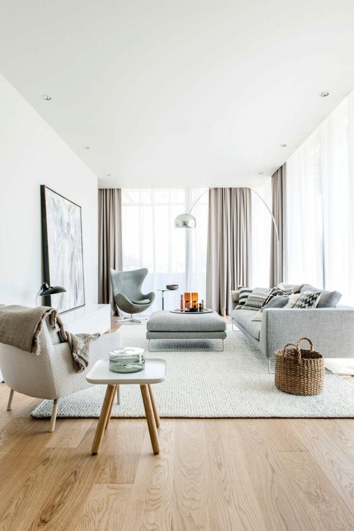 Scandinavian Living Room: What's Hot On Pinterest Scandinavian Living Room Décor
