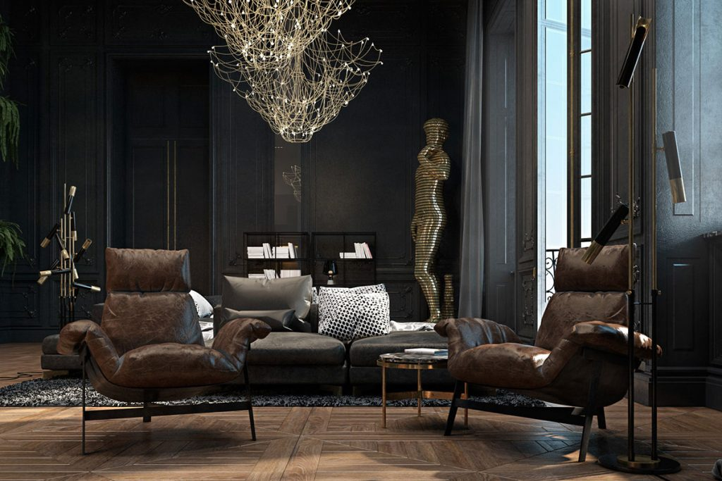 ike floor lamp Ike Floor Lamp Featured In A Luxurious French Apartment! Ike Floor Lamp Featured In A Luxurious French Apartment3 1024x683