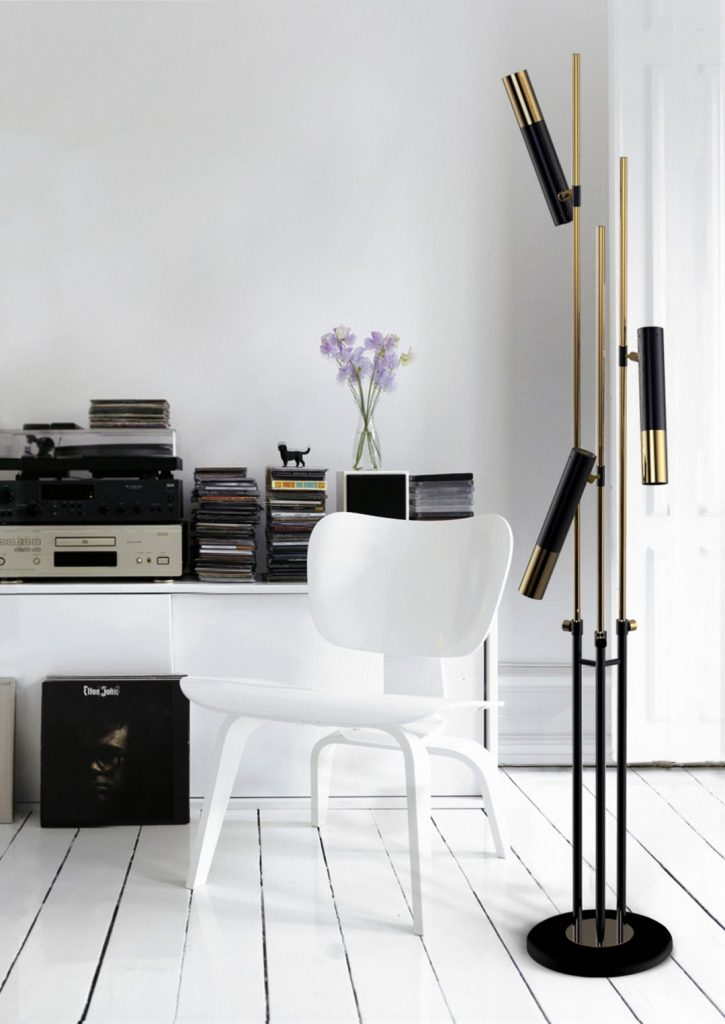 ike floor lamp Ike Floor Lamp Featured In A Luxurious French Apartment! Ike Floor Lamp Featured In A Luxurious French Apartment6 725x1024