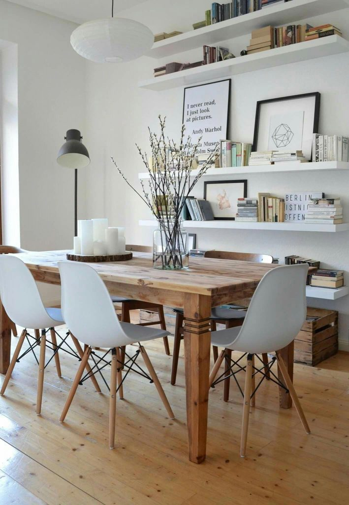industrail dining room industrial dining room Industrial Dining Room Is This Week's Trendy Topic! Industrial Dining Room Is This Weeks Trendy Topic2 709x1024