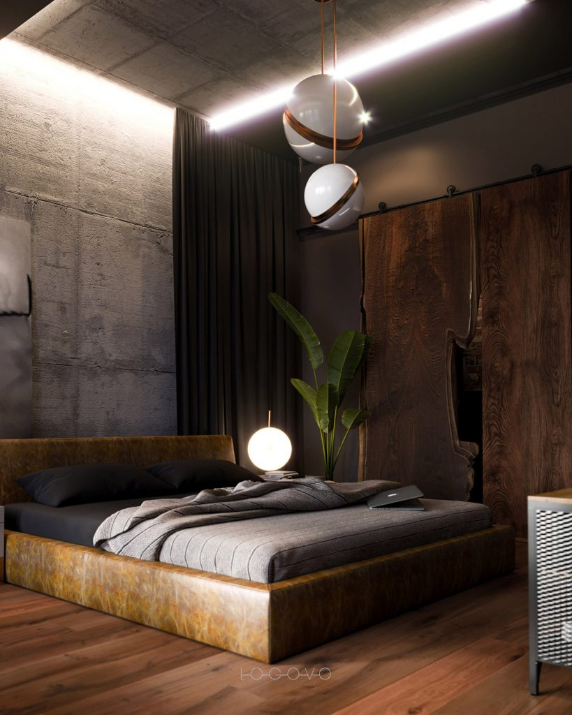 Luxurious Industrial Bedrooms luxurious industrial bedrooms What's Hot On Pinterest Floor Lamps In Luxurious Industrial Bedrooms! Whats Hot On Pinterest Floor Lamps In Luxurious Industrial Bedrooms2 819x1024