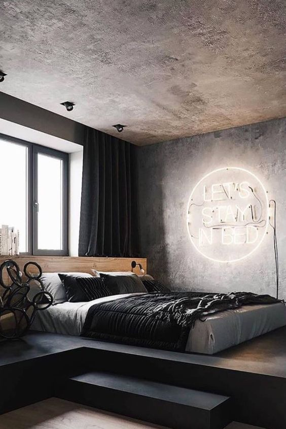 Luxurious Industrial Bedrooms luxurious industrial bedrooms What's Hot On Pinterest Floor Lamps In Luxurious Industrial Bedrooms! Whats Hot On Pinterest Floor Lamps In Luxurious Industrial Bedrooms3