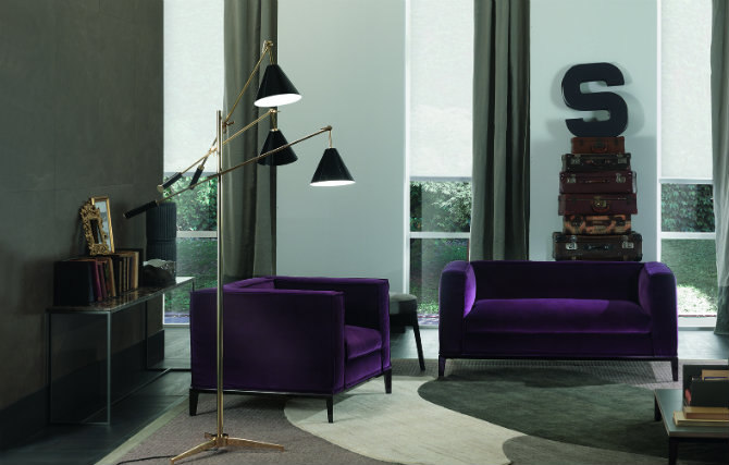 sources unlimited Sources Unlimited – A Studio In India Specialized In Contract Projects! 5 Ways to transform your home with Sinatra Floor Lamp living area