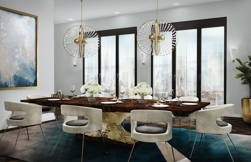 modern dining room modern dining room Get The Perfect Modern Dining Room Decor With This Floor-Chair Combo! Get The Perfect Modern Dining Room Decor With This Floor Chair Combo2 1024x662