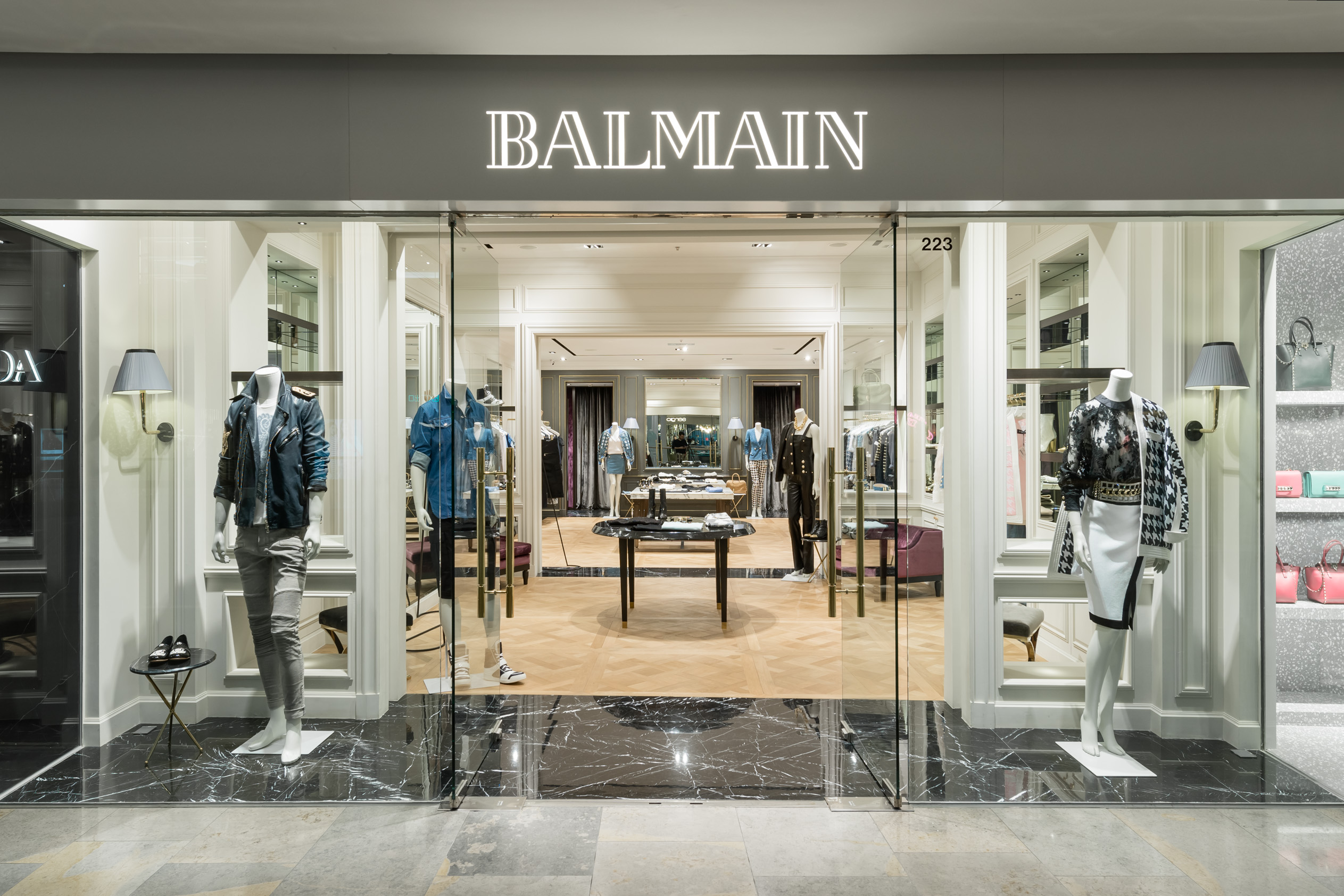 modern designers Get To Know These Amazing Hong Kong Modern Designers! Balmain Store in Pacific Place Hong Kong