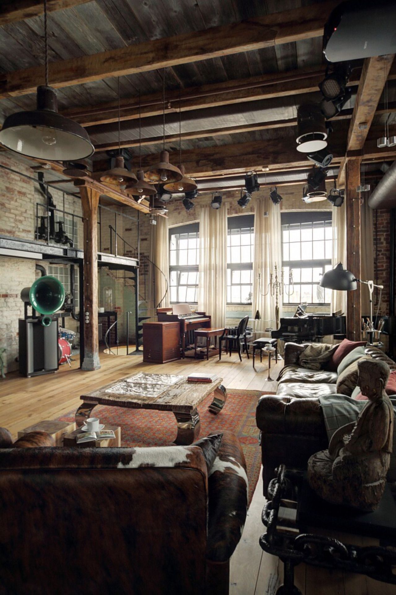 industrial lofts industrial lofts What's Hot On Pinterest Industrial Lofts Are Here! Whats Hot On Pinterest Industrial Lofts Are Here1