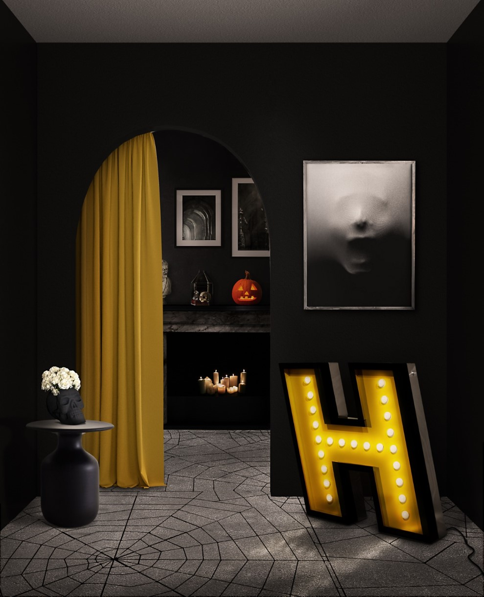 halloween décor Get The Halloween Décor These Floor Lighting Pieces! 2