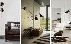 triple lampshade Best Mid-Century TripleLamp Shade Floor Lamps! Design sem nome 37 240x150