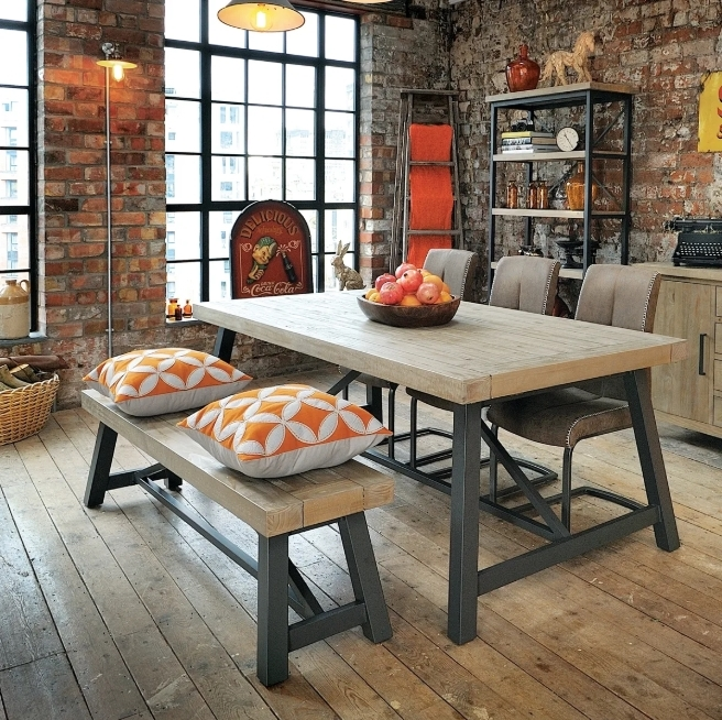 industrial style dining room What's Hot On Pinterest Industrial Style Dining Room! Whats Hot On Pinterest Industrial Style Dining Room1