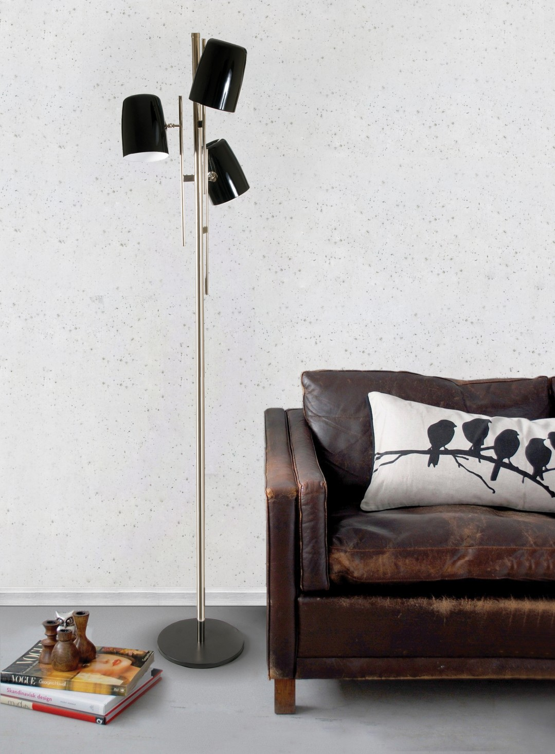 triple lampshade Best Mid-Century TripleLamp Shade Floor Lamps! cole floor ambience 01 HR349a9b618807085e57e23bccf753b074