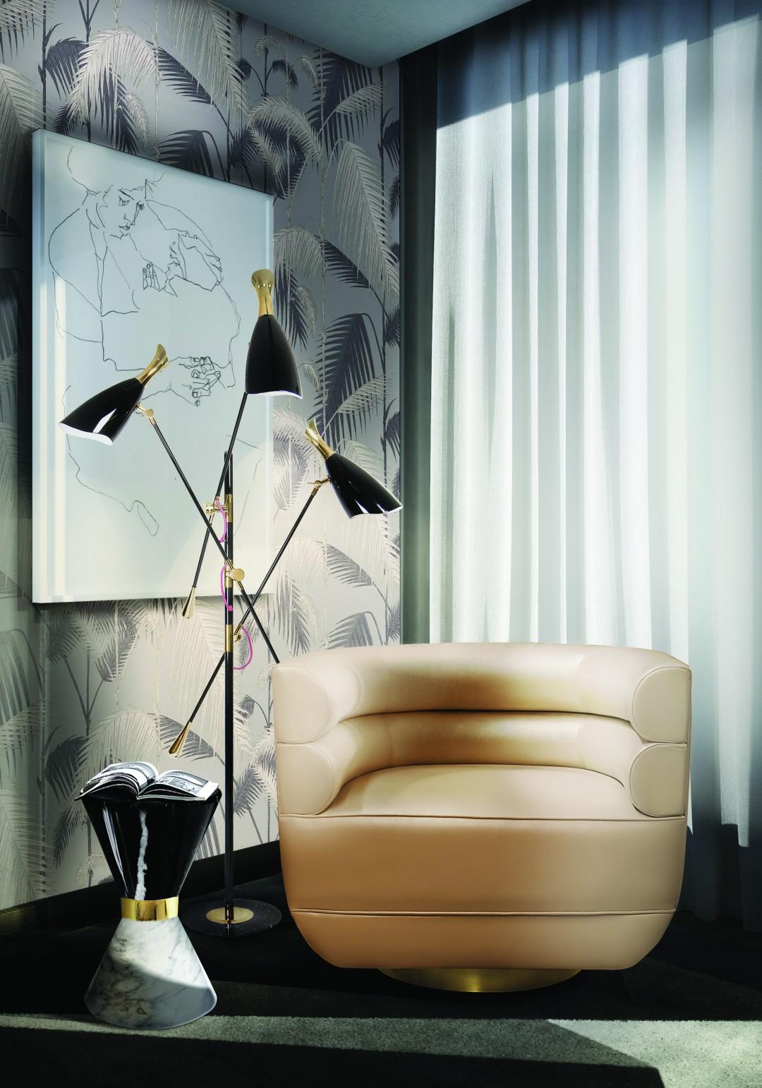 triple lampshade Best Mid-Century TripleLamp Shade Floor Lamps! duke floor ambience 07 HR2f2e7b417feb4802e91cb6b870baa643