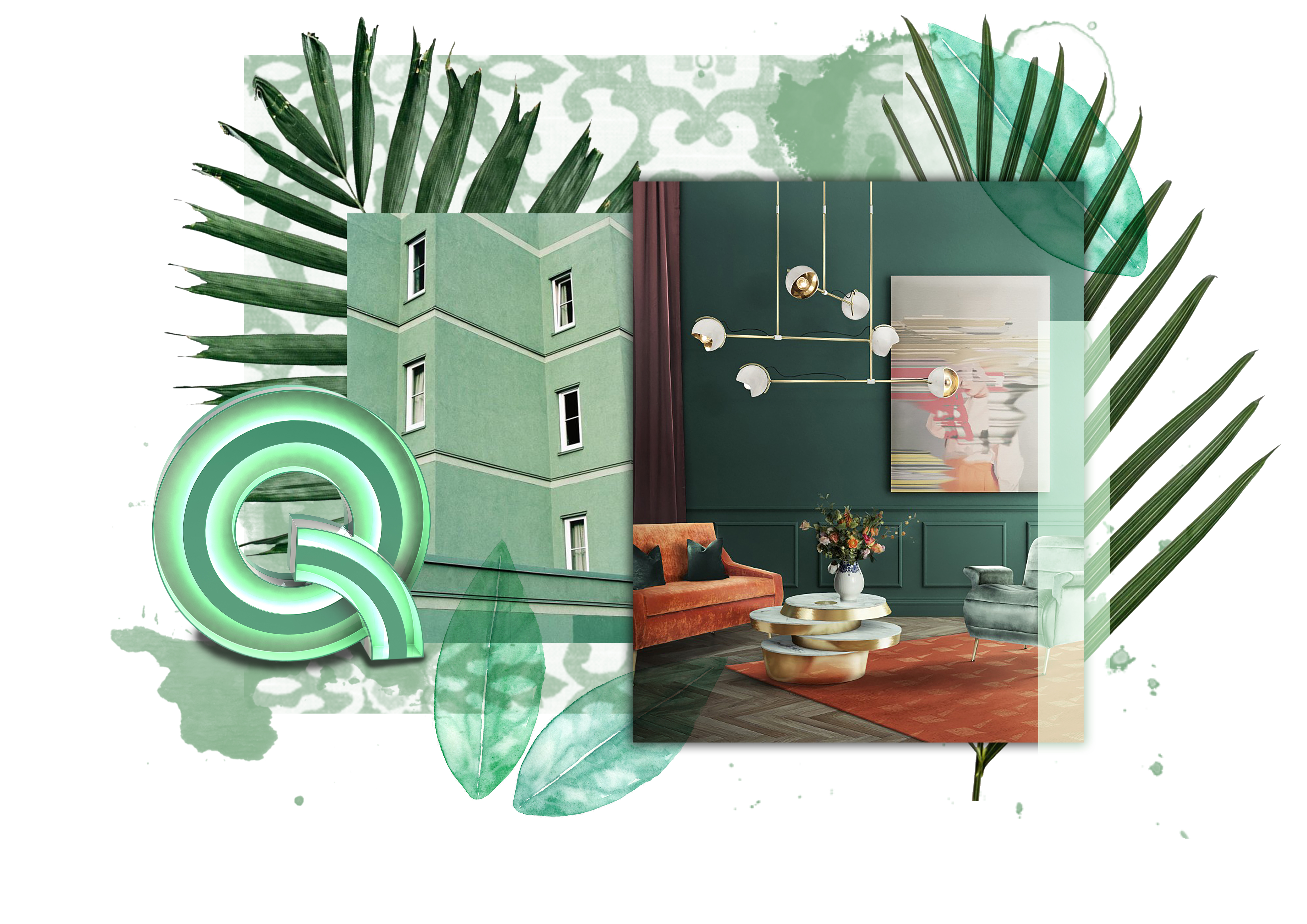 mint flavored moodboards Mint Flavored Moodboards For Your Modern Home Décor! Colours DL Mint Moodboard
